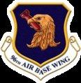 Eglin 96th Air Base Wing supports all of Eglin with military services and other services such as personnel, civil engineering, logistics, communications, security, and tech and medical services.