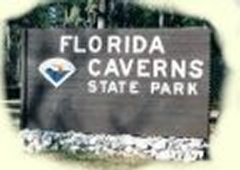 Florida Caverns State Park is located in Marianna, Florida.