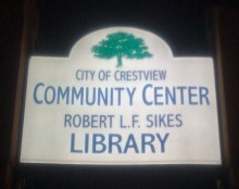 Crestview, Florida boasts a brand-new Community Center, built by the City of Crestview.