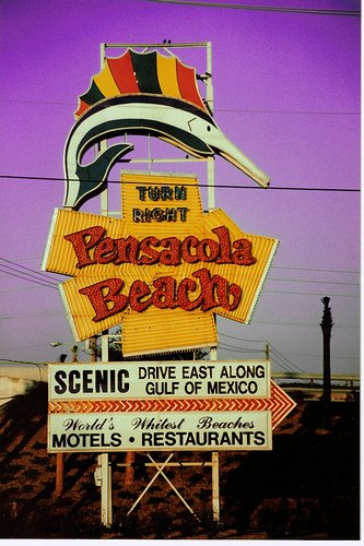 Welcome to Pensacola, Florida -- don't forget to check out the Scenic Drive.