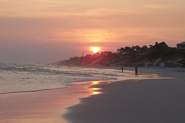 ...to sunset in Seagrove Beach, Florida.