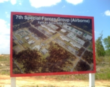 Eglin Air Force Base welcomes the 7th Special Forces Group.