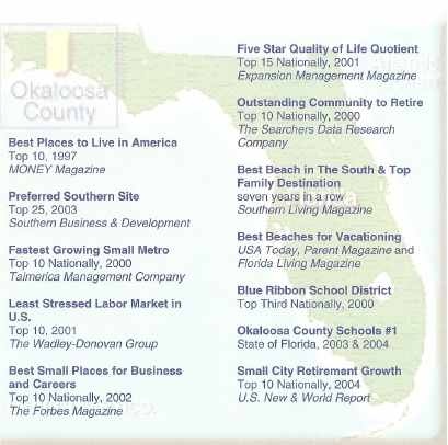 See What Okaloosa County Offers!