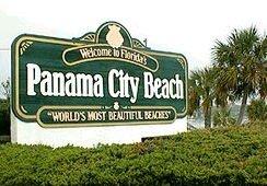 Welcome to Panama City Beach, Florida.