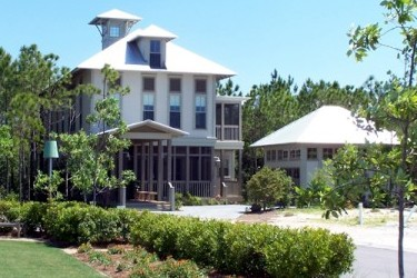 The Watercolor residential development in Seagrove Beach, Florida offers majestic beachfront homes.