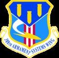 The 308 Armament Systems Wing of Eglin Air Force Base develops, procures, deploys, and sustains air-to-ground and ground-to-ground weapons to increase the overall effectiveness of the Air Force.
